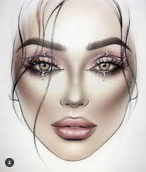 Mac Makeup Face Chart Saubhaya Makeup