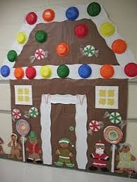gingerbread house bulletin board ideas. Perfect Board Life Size Gingerbread House Wall Decor For December Inside Gingerbread House Bulletin Board Ideas N
