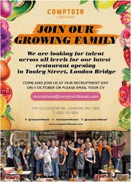 hospitality jobs uk join our family at ptoir libanais e to our london recruitment day