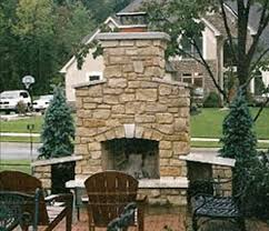 single flue chimney cap on outdoor chimney