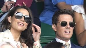 Tom Cruise hits Wimbledon with rumored ...