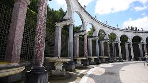 garden columns.  Garden Arches And Columns In The Garden Of Palace Versailles Stock Video  Footage  Videoblocks On Garden D
