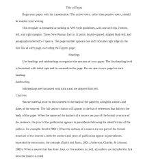 Apa Research Proposal Sample Research Proposal Example Apa Research Paper Proposal Essay Sample