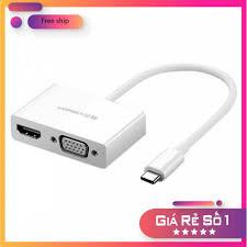 Free Ship] Cáp chuyển đổi USB Type C sang HDMI và VGA Ugreen 30843