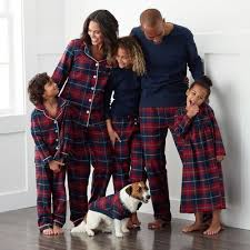 Family Flannel Pajamas - Red Plaid | The Company Store
