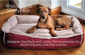 luxury pet furniture. welcome to wolfybeds designer dog beds and luxury pet accessories for discerning pets their owners show me more furniture