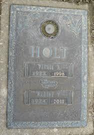 Virgil Arthur Holt (1922-1998) - Find A Grave Memorial