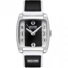 moschino mens moschino i feel dandy white dial leather strap mens watch mw0004