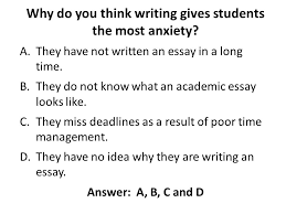 get ahead postgraduate summer programme ppt  why do you think writing gives students the most anxiety