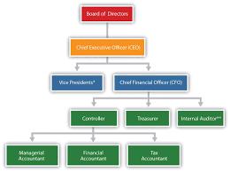 Finance Organizational Chart Organizational Structure Of Finance Department Google