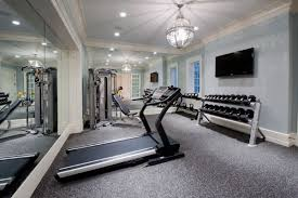 Exercise Home Gym Room Inspiration Ideas