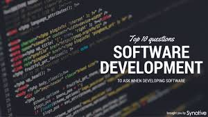 Software Design A Comprehensive Guide To Software Development Projects Software Development Client Questionnaire 10 Questions To