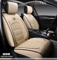 chevy tahoe leather seat covers for honda civic 2006 2016 accord fit crv red black waterproof