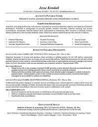 Ap Clerk Sample Resume Accounts payable resume is used to apply a job as account payable 1