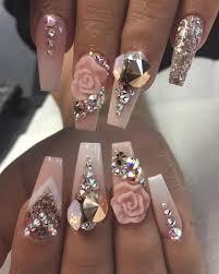 Rhinestone Stiletto nails . | Nails Darling | Pinterest | Stiletto ...