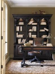 shop for hooker furniture telluride bookcase hutch and other home office bookcases furniture tellurides black paint finish with heavy reddish brown buy home office furniture give