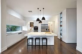 modern white kitchen island. Brilliant Kitchen Modern White Island