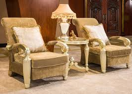 luxury lounge chairs. Indoor Luxury Hand Carved Wooden Lounge Chair With Gold Leaf Decorative Chairs
