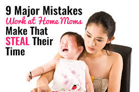 bring work home. 9 Major Mistakes That Work-at-Home Moms Make Steal Their Time Bring Work Home