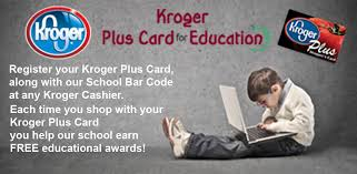 kroger plus card for education
