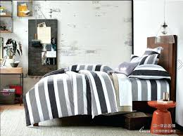 blue striped comforter full size fashion bedding gray white black blue striped bedding black and white