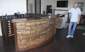 wine barrell furniture. Sweet Home Craftsman Builds Furniture From Wine Barrels Barrell