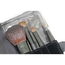 yves saint lau yves saint lau cosmetics brush set porch lady s black velvet satin