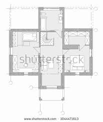 drawing furniture plans. Symbols Used Drawing House Plans New Standard Home Furniture Set  Stock Vector Drawing Furniture Plans