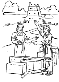 Small Picture Elegant Tower Of Babel Coloring Page 87 In Gallery Coloring Ideas