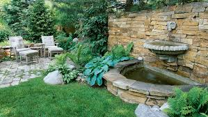 Small Picture Great Garden Fountain Ideas Sunset