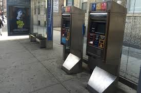 Metrocard Vending Machine Locations Simple Broken MTA Vending Machines Leave Inwood Bus Riders Unable To Get