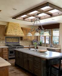 ... Lovely skylight blends in with the style and theme of the room [Design:  Francis