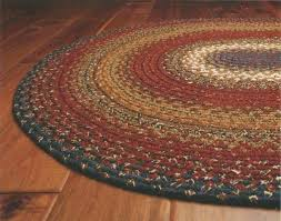 cotton area rugs 8x10 luxury braided floor rug oval burdy blue rustic furniture of america daybed