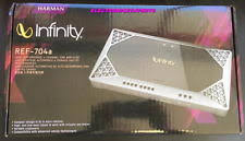 infinity 4 channel amp. infinity ref-704a reference series 4 channel amplifier new car amp 1000 watt max r