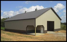 pole barn metal siding. New Pole Building Barn Metal Siding