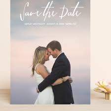Everlasting Grand Save The Date Cards by Chasity Smith   Minted