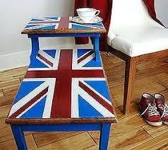 painted furniture union jack autumn vignette. Best Of Union Jack Furniture Decor Painted Step Table . Autumn Vignette A