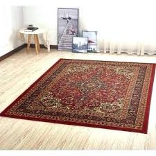 red and cream rugs red black