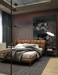 Brown Leather Bed Bedroom Ideas
