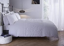 white duvet cover set super king a beautiful 100 cotton 200 thread count bedding collection