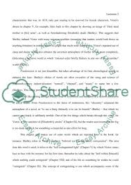mary shelley s frankenstein a close reading essay mary shelleys frankenstein a close reading essay example