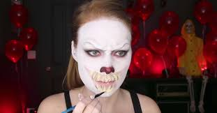it pennywise makeup video tutorial