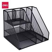 Shop Deli Deli Metal Mesh Office File Box File Rack Multi