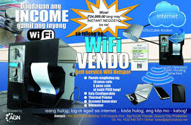 Piso Wifi Vending Machine