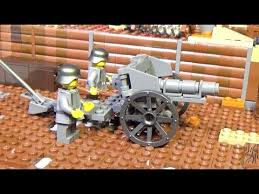 ЛЕГО Военная Академия #32, Первая мировая война, полевая ...