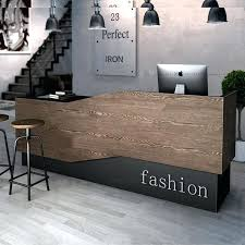 front reception desk industrial wind retro checkout counter at the clothing in front reception desk decorations front reception desk