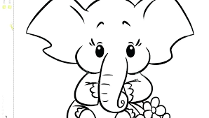 Elephant Coloring Pages For Kids Homelandsecuritynews