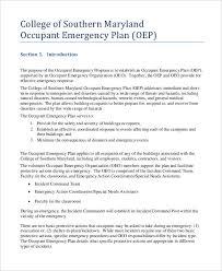27+ Emergency Plan Examples