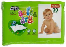 Одноразовые <b>пеленки Helen Harper Soft</b> & Dry 40х60 — купить по ...