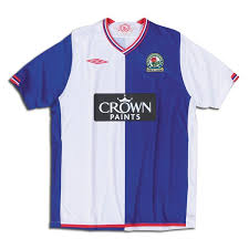 Blackburn rovers jersey atletico madrid football shirts. Blackburn Rovers Home Jersey For 09 10 Season Leaked World Soccer Talk